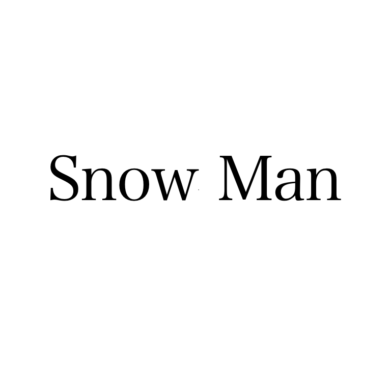 Snowman モニタリング Snow Man